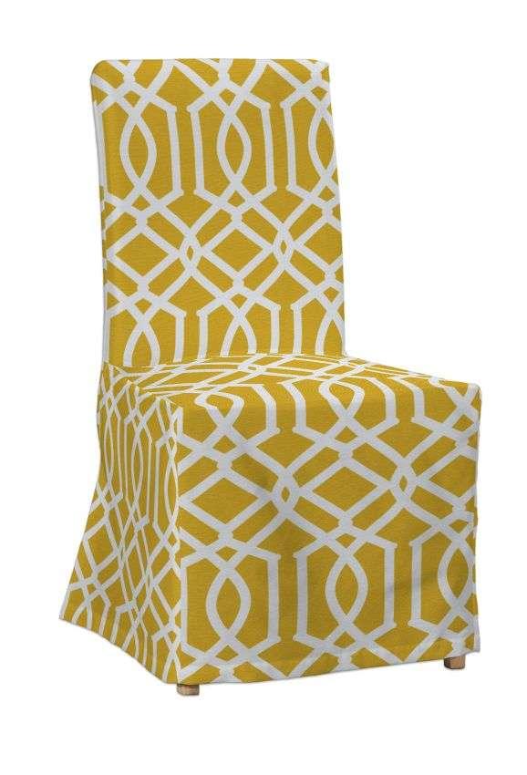 Sukienka na krzesło Henriksdal długa krzesło Henriksdal w kolekcji Comics, tkanina: 135-09