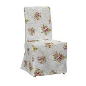 Henriksdal kėdės užvalkalas - ilgas Henriksdal kėdė kolekcijoje Flowers, audinys: 311-15