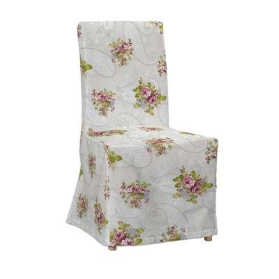 IKEA stoelhoes zonder rugband voor Henriksdal 311-15 rozen op beige achtergrond Collectie SALE