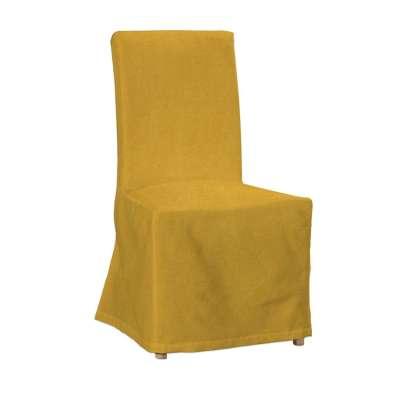 Sukienka na krzesło Henriksdal długa 705-04 musztardowy szenil Kolekcja Etna