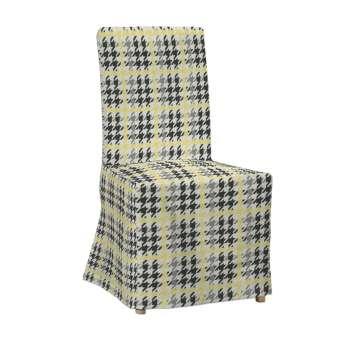 Sukienka na krzesło Henriksdal długa krzesło Henriksdal w kolekcji Brooklyn, tkanina: 137-79
