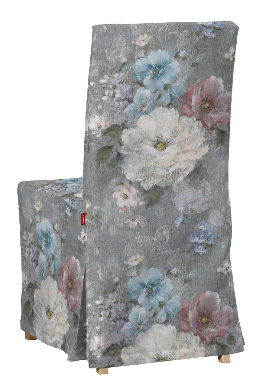 Sukienka na krzesło Henriksdal długa krzesło Henriksdal w kolekcji Monet, tkanina: 137-81