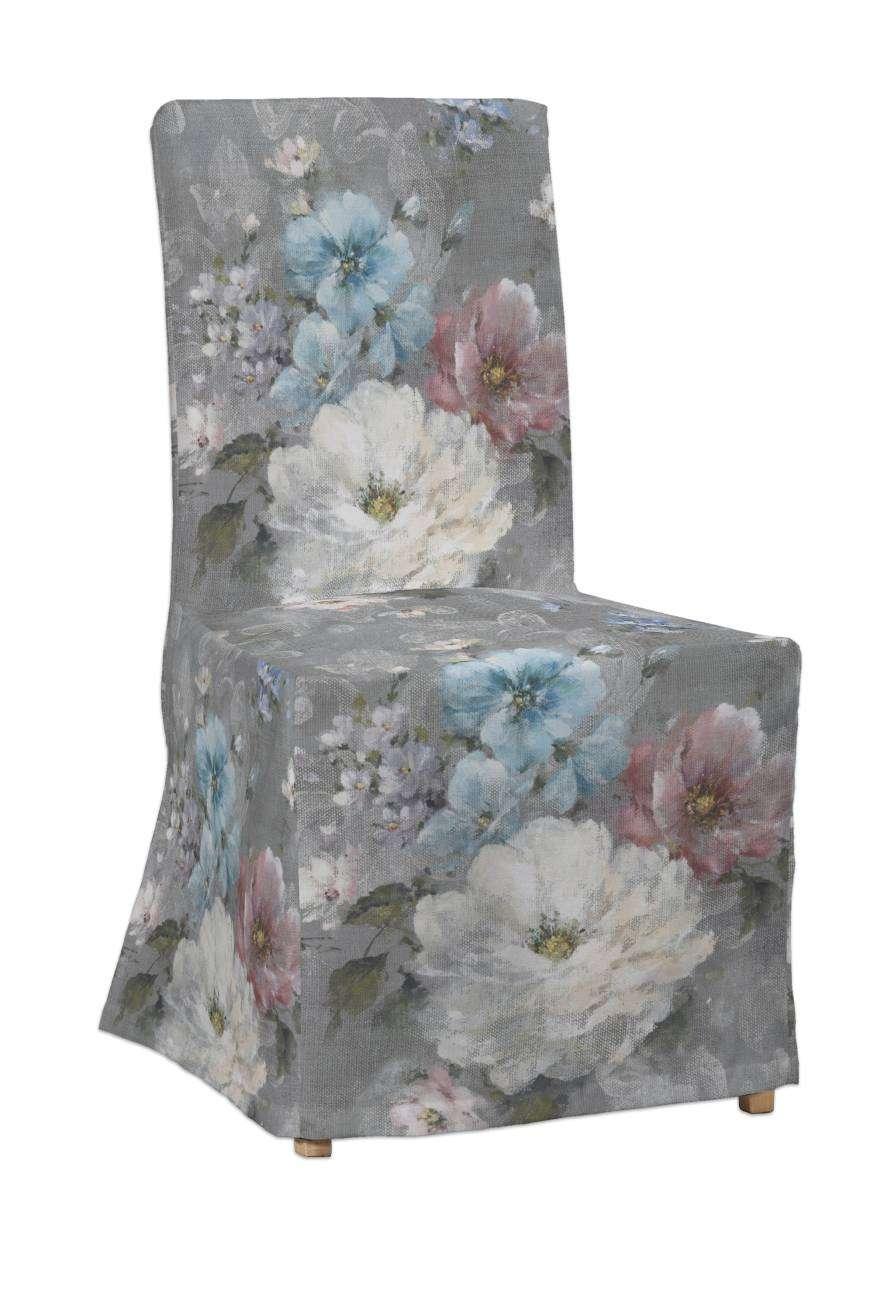 Henriksdal kėdės užvalkalas - ilgas Henriksdal kėdė kolekcijoje Monet, audinys: 137-81