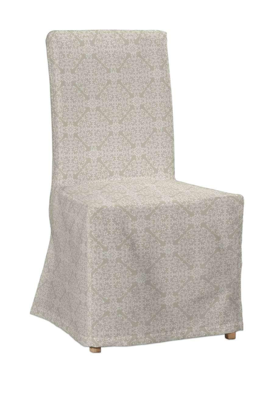 Návlek na stoličku Henriksdal (dlhý) V kolekcii Flowers, tkanina: 140-39