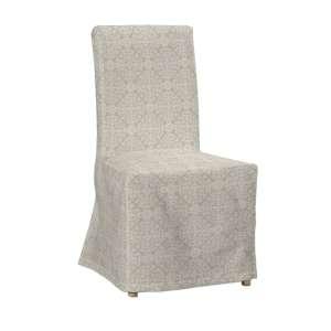 Sukienka na krzesło Henriksdal długa krzesło Henriksdal w kolekcji Flowers, tkanina: 140-39