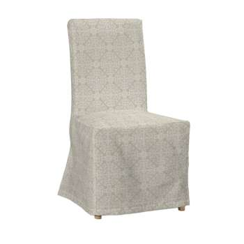 Potah na židli IKEA  Henriksdal, dlouhý židle Henriksdal v kolekci Flowers, látka: 140-39