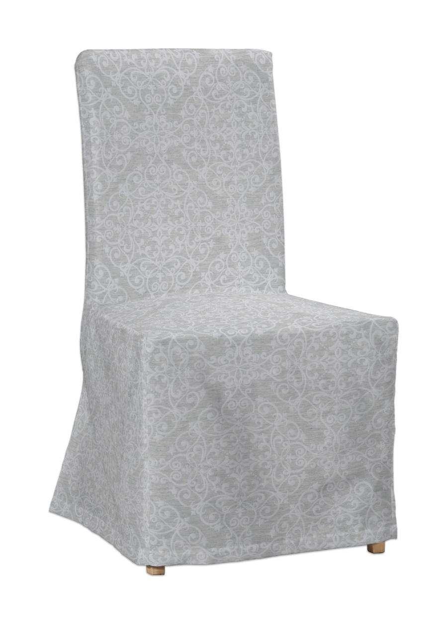 Sukienka na krzesło Henriksdal długa krzesło Henriksdal w kolekcji Venice, tkanina: 140-49