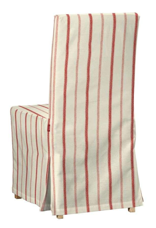 Sukienka na krzesło Henriksdal długa w kolekcji Avinon, tkanina: 129-15