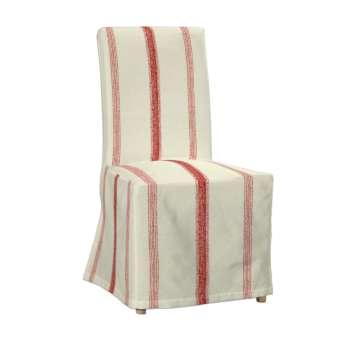 Sukienka na krzesło Henriksdal długa krzesło Henriksdal w kolekcji Avinon, tkanina: 129-15