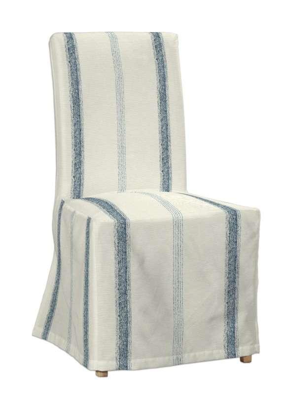 Sukienka na krzesło Henriksdal długa krzesło Henriksdal w kolekcji Avinon, tkanina: 129-66
