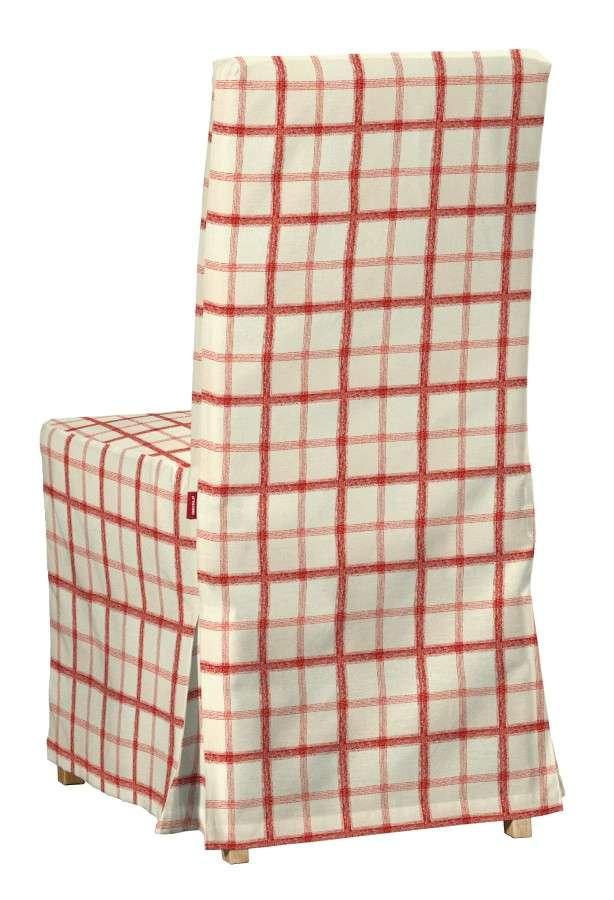 Sukienka na krzesło Henriksdal długa krzesło Henriksdal w kolekcji Avinon, tkanina: 131-15