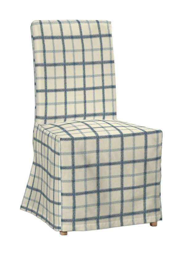 Sukienka na krzesło Henriksdal długa krzesło Henriksdal w kolekcji Avinon, tkanina: 131-66