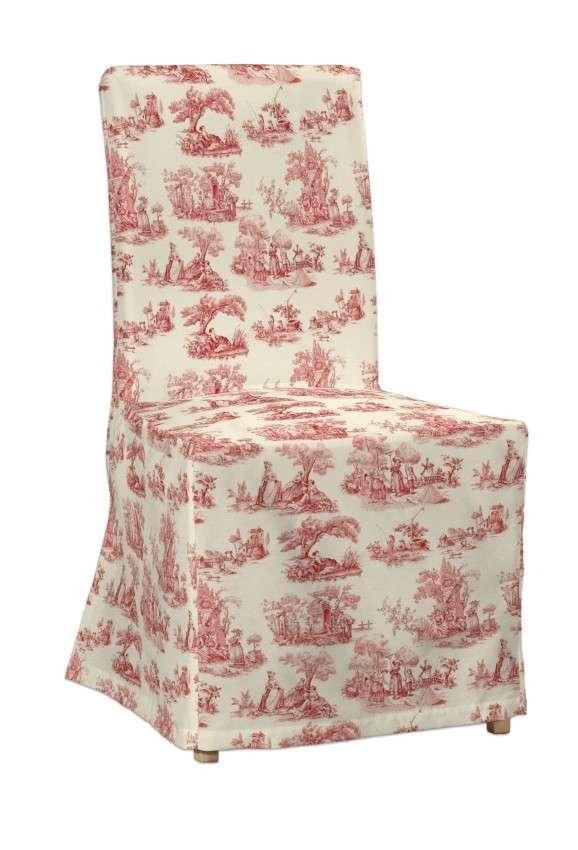 Sukienka na krzesło Henriksdal długa krzesło Henriksdal w kolekcji Avinon, tkanina: 132-15