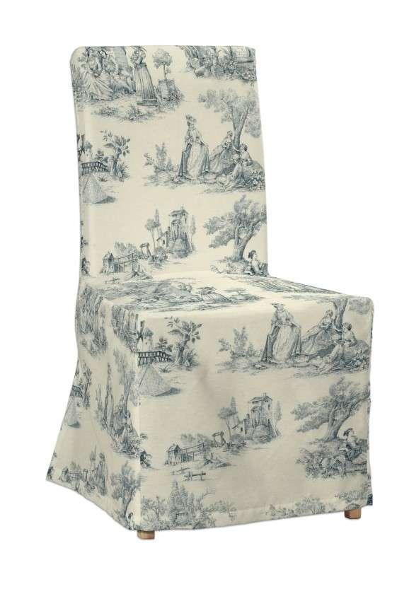 Sukienka na krzesło Henriksdal długa krzesło Henriksdal w kolekcji Avinon, tkanina: 132-66