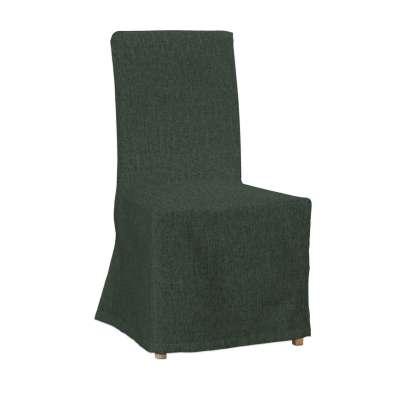 Sukienka na krzesło Henriksdal długa 704-81 leśna zieleń szenil Kolekcja City