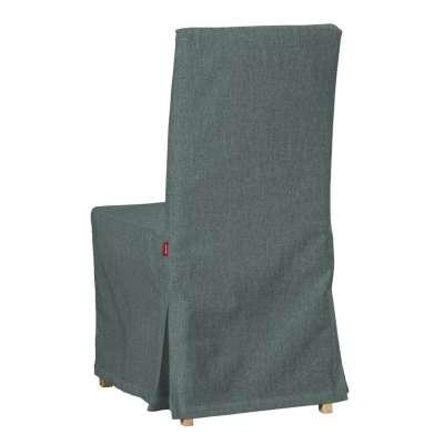 Sukienka na krzesło Henriksdal długa 704-85 szary błekit szenil Kolekcja City