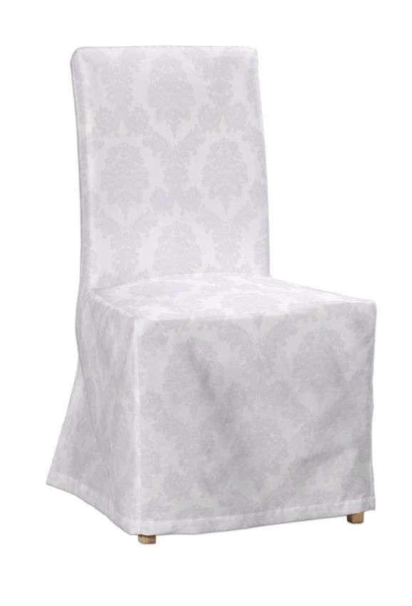 Sukienka na krzesło Henriksdal długa krzesło Henriksdal w kolekcji Damasco, tkanina: 613-00