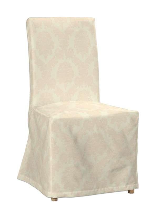 Sukienka na krzesło Henriksdal długa krzesło Henriksdal w kolekcji Damasco, tkanina: 613-01