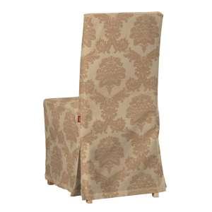 Sukienka na krzesło Henriksdal długa krzesło Henriksdal w kolekcji Damasco, tkanina: 613-04