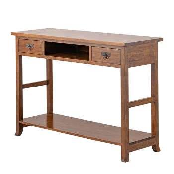 Psací stoly, boční stolky a konzoly