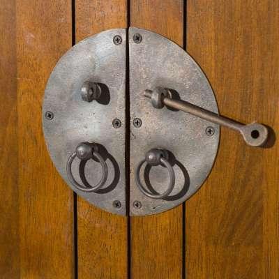 Komoda Ibuku 3szuflady + 4 drzwi, brown 126x55x65cm