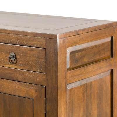 Dressoir Ibuku brown 174x50x90cm Koloniale meubels - Dekoria.nl