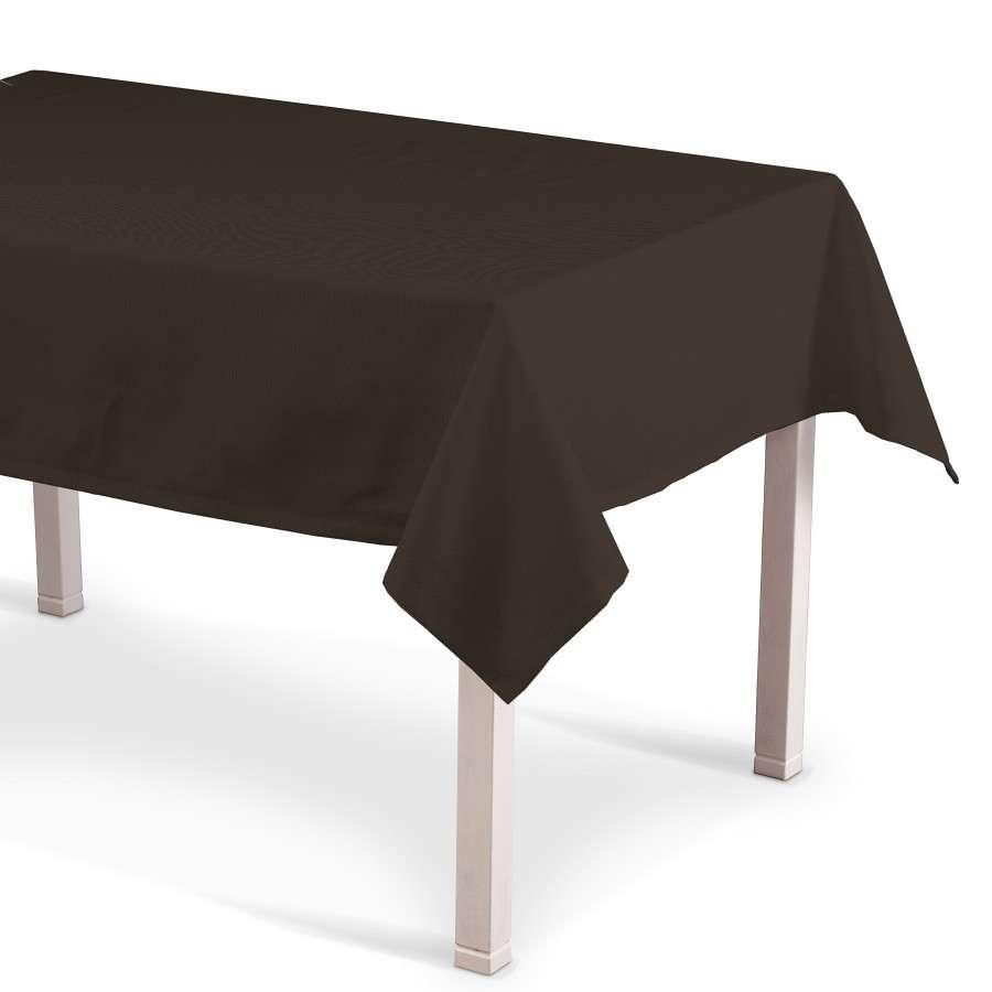 Rechteckige Tischdecke 130 x 130 cm von der Kollektion Cotton Panama, Stoff: 702-03