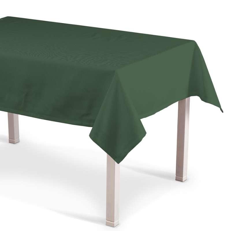 Rektangulær bordduk fra kolleksjonen Cotton Panama, Stoffets bredde: 702-06