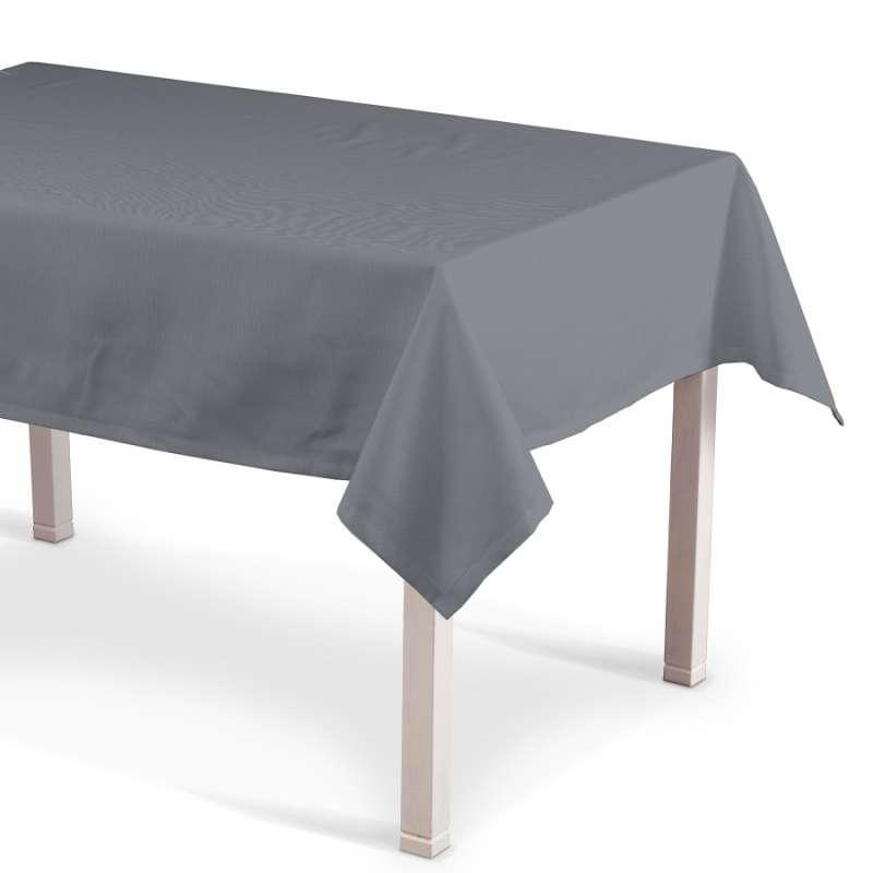 Obrus na stôl obdĺžnikový V kolekcii Cotton Panama, tkanina: 702-07