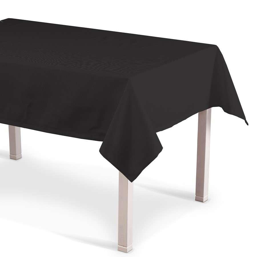 Rechteckige Tischdecke, Shadow grey, 130 × 180 cm, Cotton Panama | Heimtextilien > Tischdecken und Co | Muster | Stoff | Dekoria