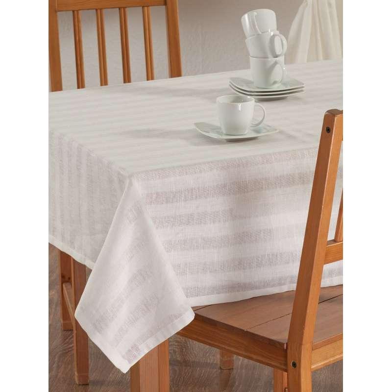 Obrus prostokątny w kolekcji Linen, tkanina: 392-03