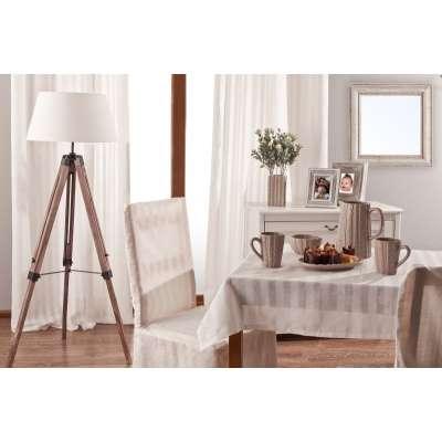 Rektangulær bordduk fra kolleksjonen Linen, Stoffets bredde: 392-03