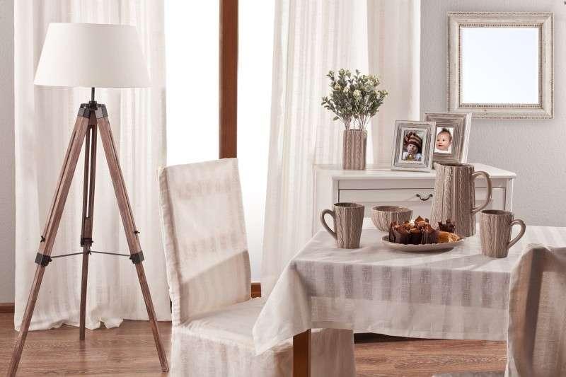 Rektangulär bordsduk i kollektionen Linne, Tyg: 392-03