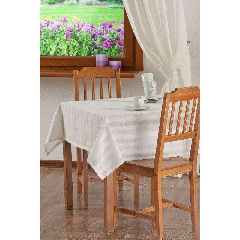 Rechteckige Tischdecke von der Kollektion Leinen, Stoff: 392-03