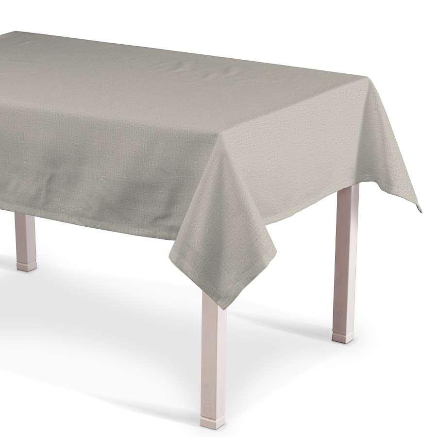 Rechthoekig tafelkleed 130 x 130 cm van de collectie Linnen, Stof: 392-05