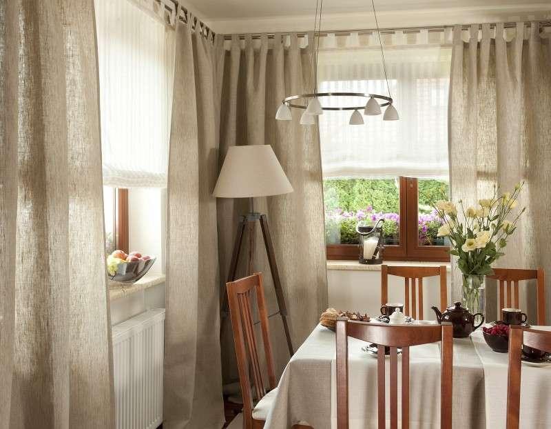 Staltiesės (stalui su kampais) kolekcijoje Linen, audinys: 392-05