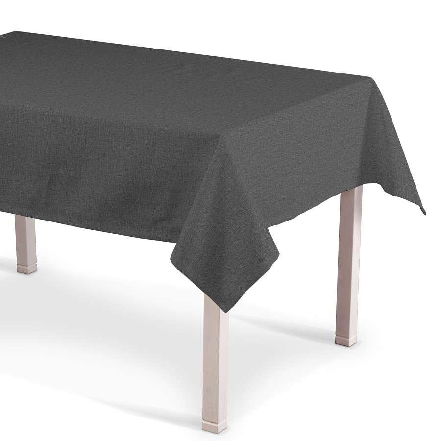 Rechteckige Tischdecke, grau, 130 × 250 cm, Edinburgh