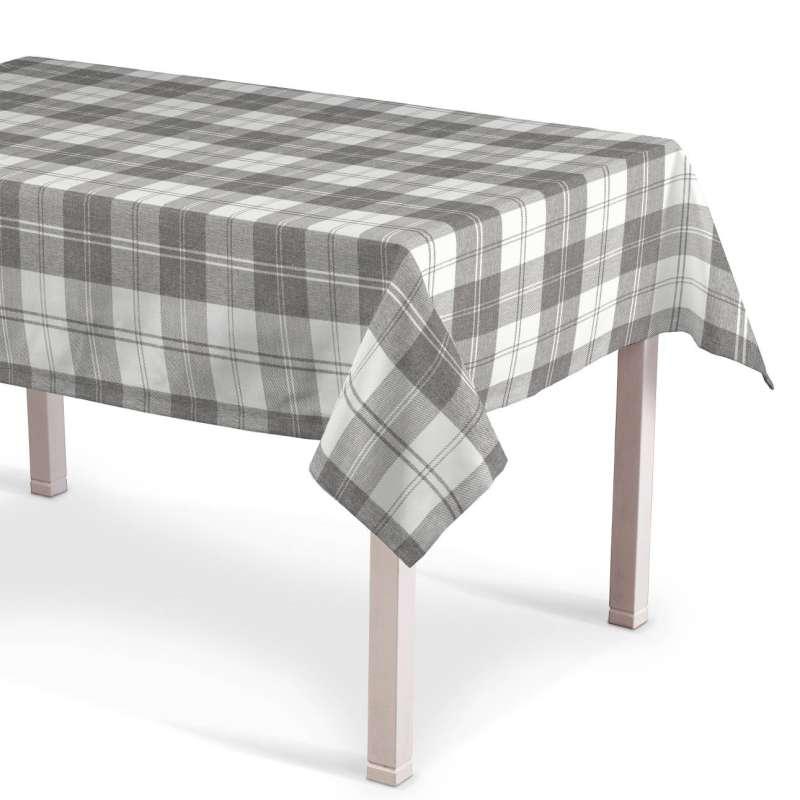 Rektangulær bordduk fra kolleksjonen Edinburgh, Stoffets bredde: 115-79