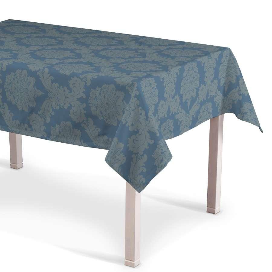 Obrus na stôl obdĺžnikový 130 x 130 cm V kolekcii Damasco, tkanina: 613-67