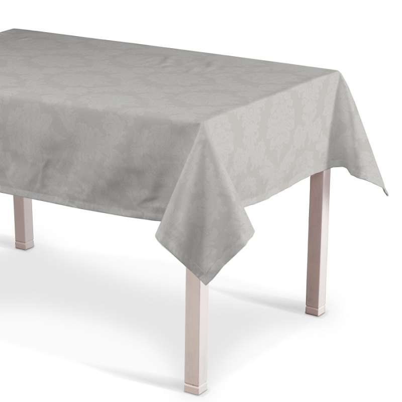 Rectangular tablecloth in collection Damasco, fabric: 613-81