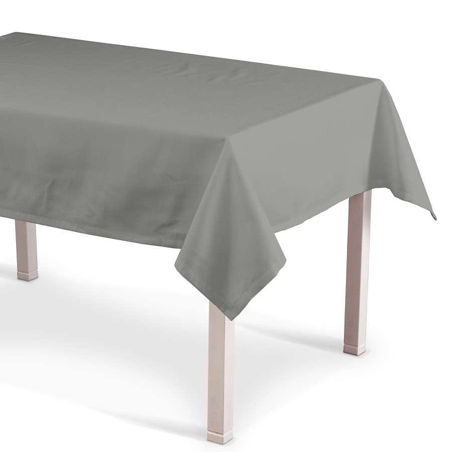 Obrus prostokątny 130x130 cm w kolekcji Loneta, tkanina: 133-24