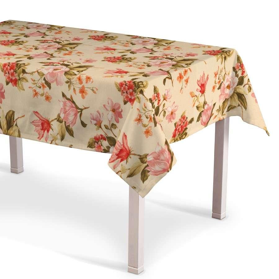 Rektangulær bordduk fra kolleksjonen Londres , Stoffets bredde: 123-05