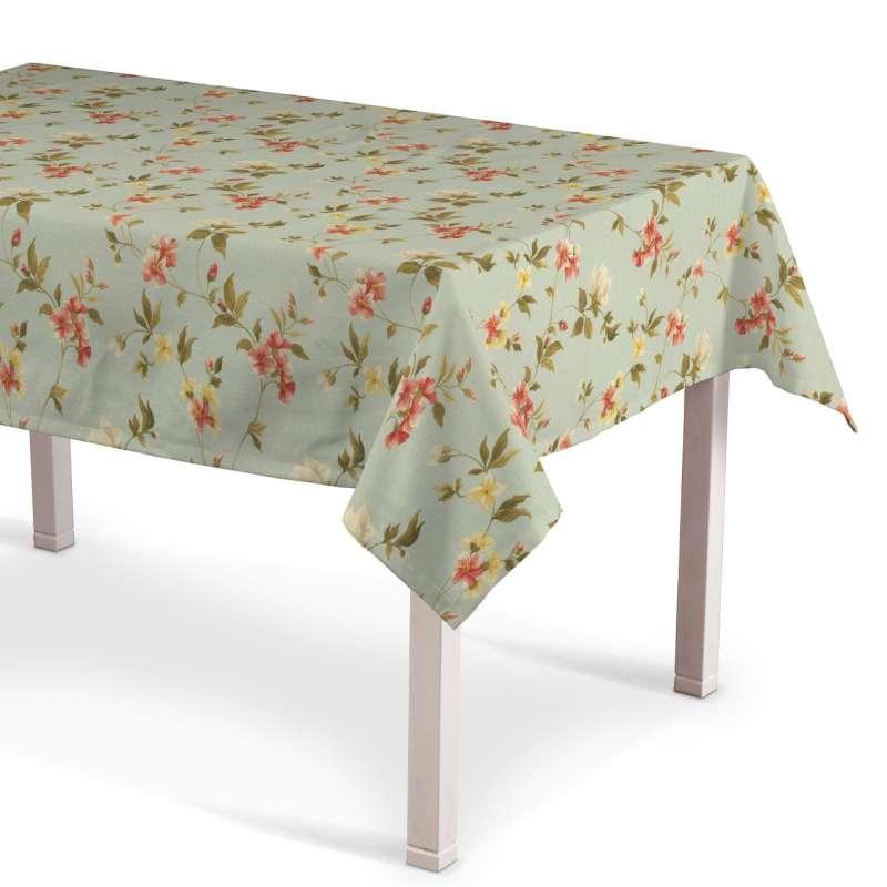 Rektangulär bordsduk i kollektionen Londres, Tyg: 124-65