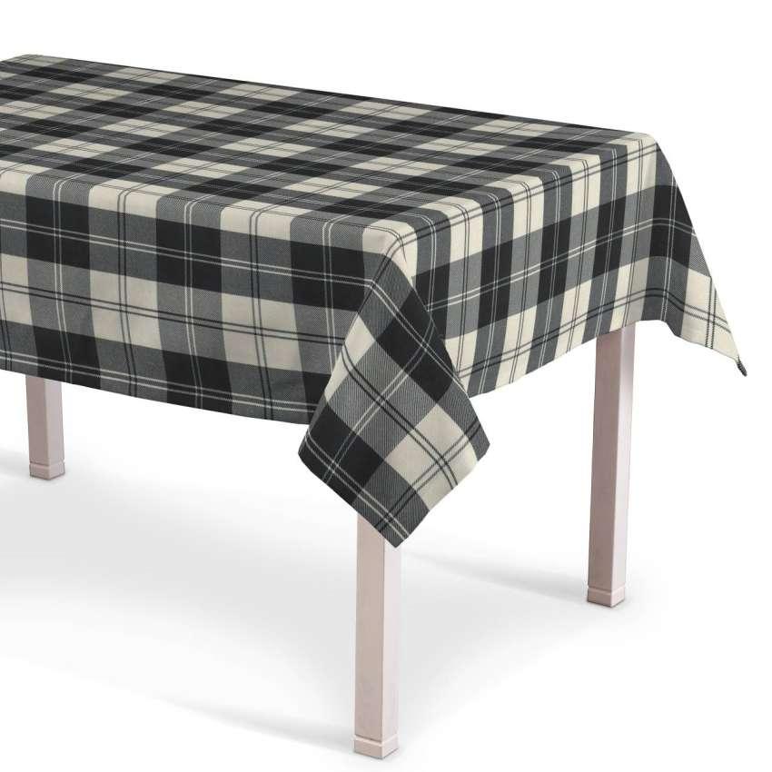 rechteckige tischdecke schwarz weiss dekoria. Black Bedroom Furniture Sets. Home Design Ideas