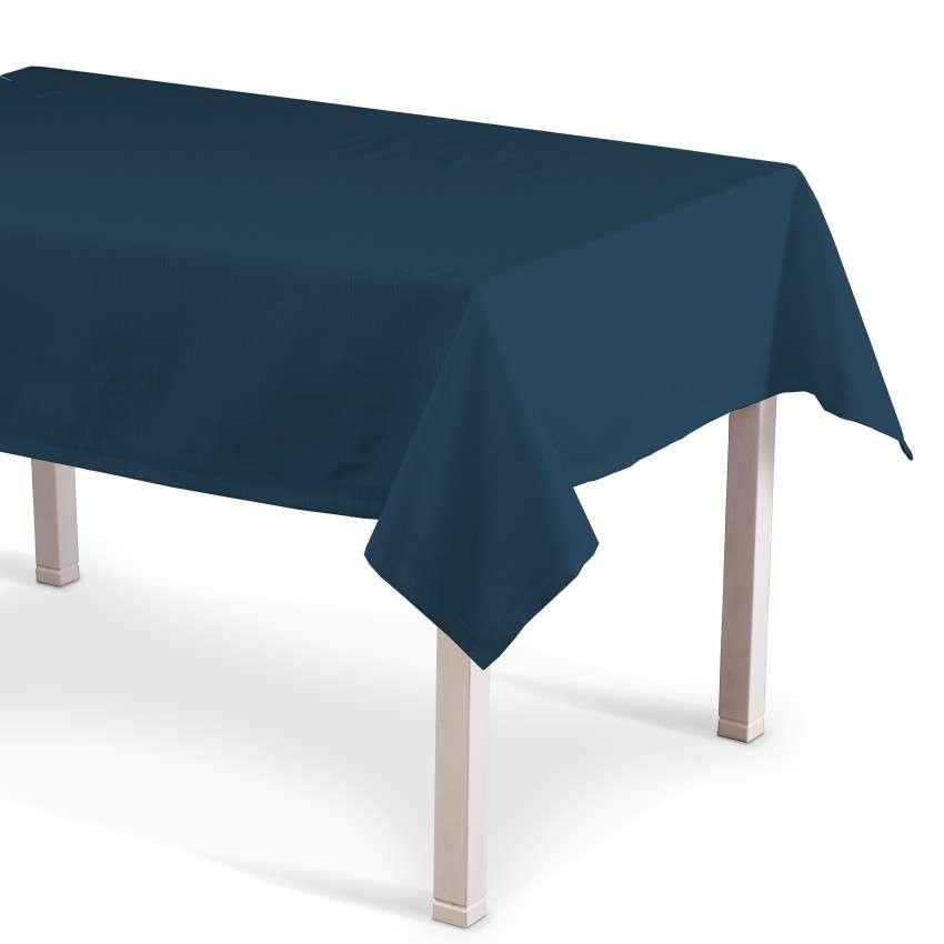Rechteckige Tischdecke 130 x 130 cm von der Kollektion Cotton Panama, Stoff: 702-30