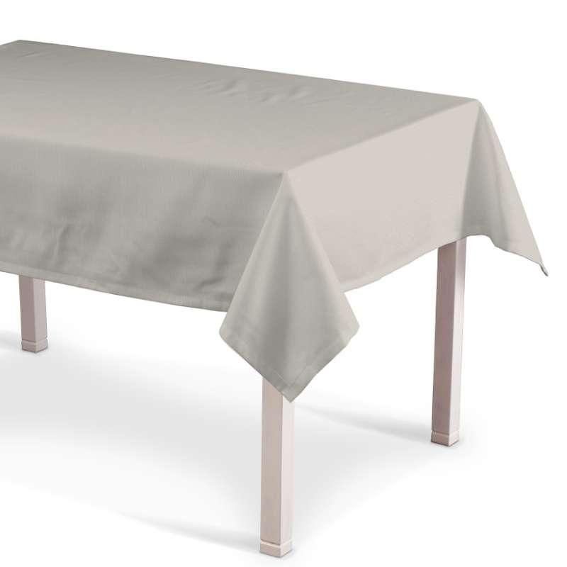 Rechteckige Tischdecke von der Kollektion Cotton Panama, Stoff: 702-31