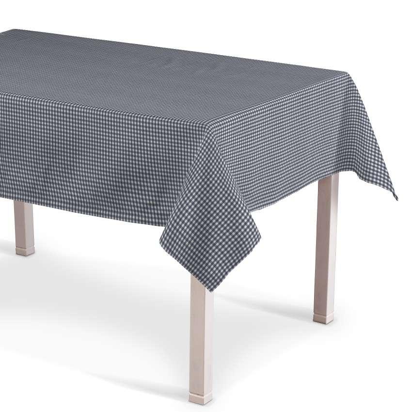 Obrus prostokątny 130x130 cm w kolekcji Quadro, tkanina: 136-00