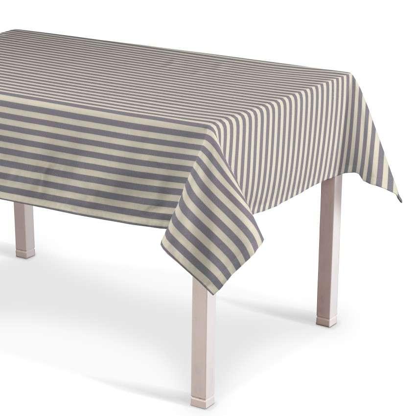 Rechteckige Tischdecke 130 x 130 cm von der Kollektion Quadro, Stoff: 136-02