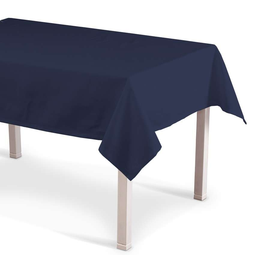 Rektangulær bordduk fra kolleksjonen Quadro, Stoffets bredde: 136-04