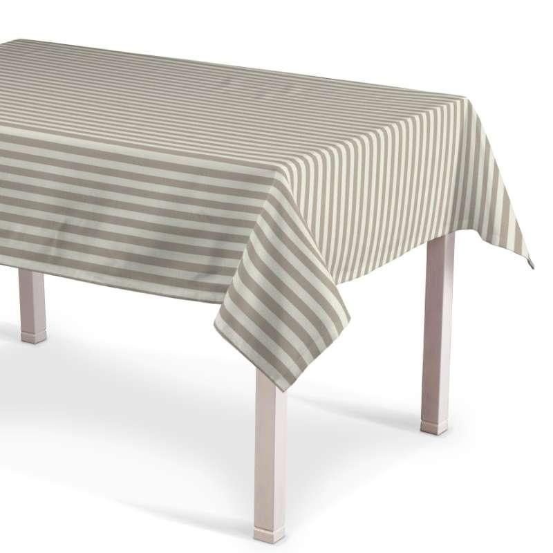 Rektangulær bordduk fra kolleksjonen Quadro, Stoffets bredde: 136-07